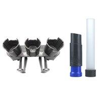 Armazenamento Titular + Ferramenta de Limpeza para o Dyson Aspirador Parte V7 V8 V10 Absoluta Brush Tool|Peças p/ aspirador de pó| |  -