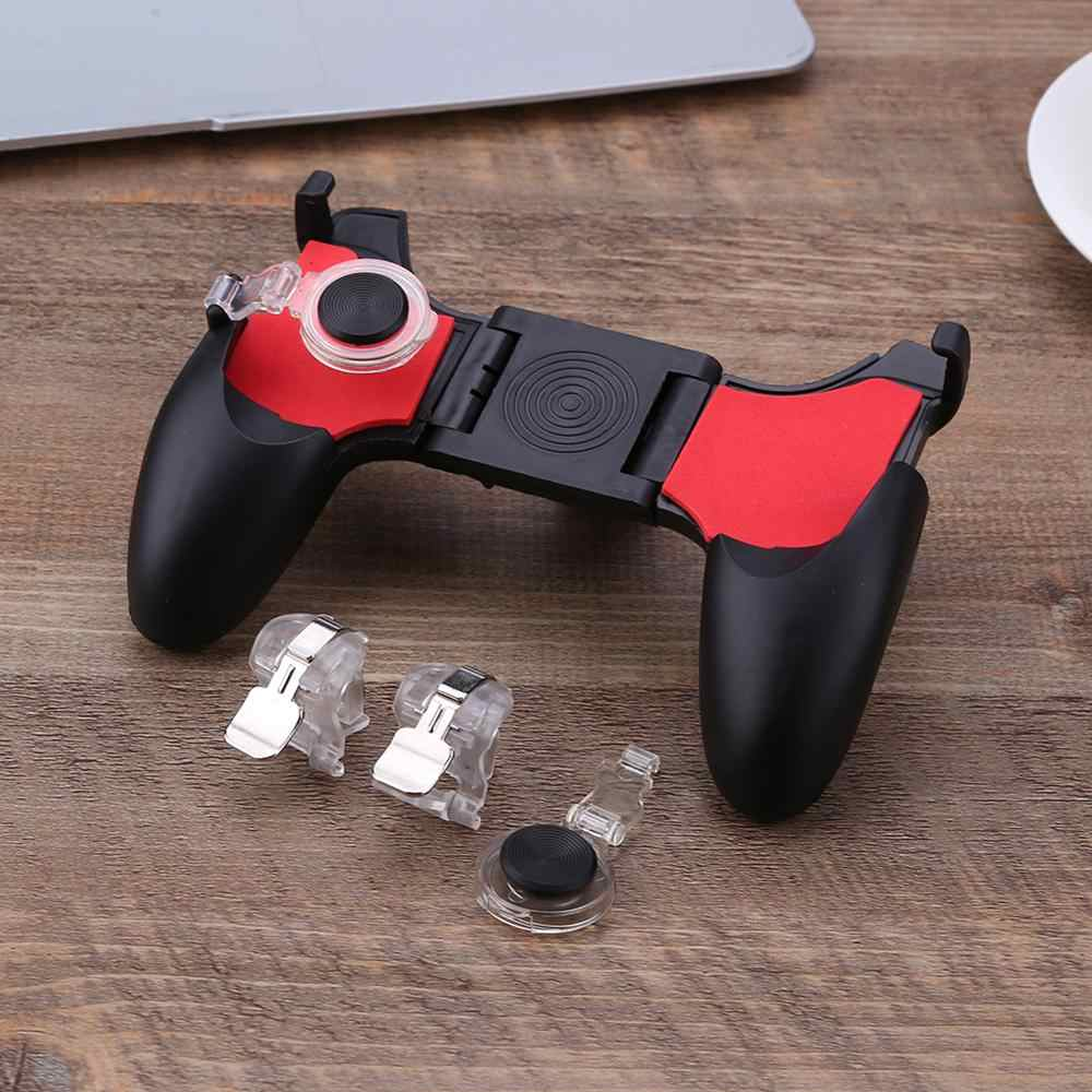 PUBG 5 w 1Moible Controller Free Fire L1 R1 wyzwala Gamepad pad do grania Grip L1R1 Joystick do iphone'a telefon z systemem android Shooter