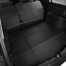 Waterproof Boot +Back Seat Carpets Durable Custom Special Car Trunk Mats for MITSUBISHI ASX GALANT LANCER OUTLANDER GRANDIS цена и фото