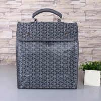 2021 new backpack fashion dog tooth bag school bag fashion backpack Goya Goyard New Y letter logo backpack