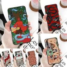 Polly nem pintura arte suave capa de telefone para huawei companheiro 30 pro p20 p30 p40 pro lite y7 y6 2019 para 8x 8a 10 20lite 10i