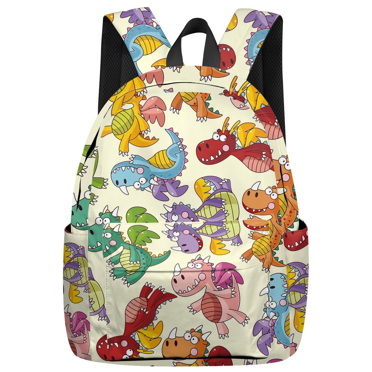 Sacs à dos de dinosaure de dessin animé de where isart sac à dos de sport hydrofuge sac à dos de randonnée sac à dos décontracté sac à dos de sport