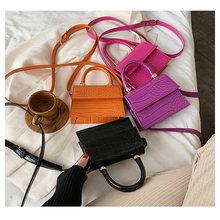 Women Small Bag 2021 New Korean Version Crossbody Bags Solid Color Chic Shoulder Bag Fashion All-Match Lady Square Handbag