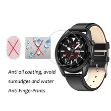 3PCS Smartwatch Screen Protector Film For Microwear L7 L7 L9 L11 L12 L13 L15 L16 L19 5H Nano Anti shock Clear PET Film Not Glass