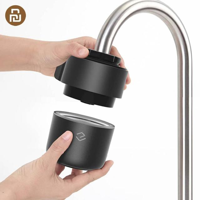 Yimu Smart Intelligent Monitoring Faucet Water Purifier Filter Kitchen Bathroom Filters Water quality safety From Youpin