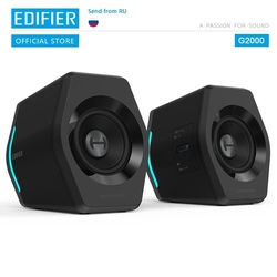 EDIFIER G2000 gaming speaker Bluetooth USB sound card AUX input 16W RMS power output 2.75 inch full range unit
