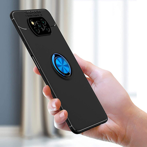 Image 5 - 3 in 1, Phone Cases + Glass for Poco X3 Magnetic Ring Silicone Screen Protector Cover Pocophone X 3 NFC Xiaomi Poco X3 NFC Case