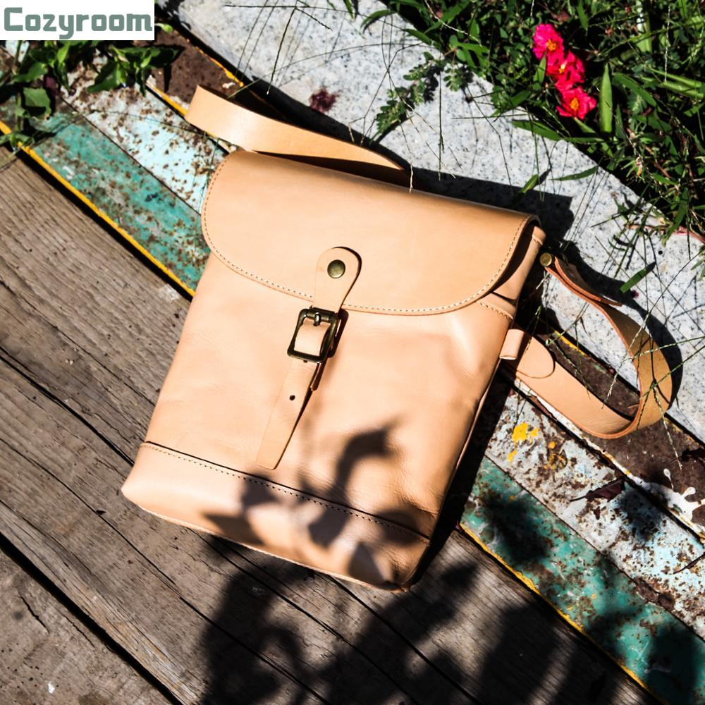 SDB269 Size 25*17*6cm Super Quality Genuine Cowhide Smart Backpack Vintage Cow Leather Casual Rider Bag