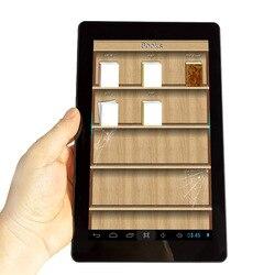 Хит продаж 9 дюймов с принтом «большие глаза» Защита HD Экран Смарт из устройства для чтения электронных книг Беспроводной Wi-Fi Android Digitl Музыка...