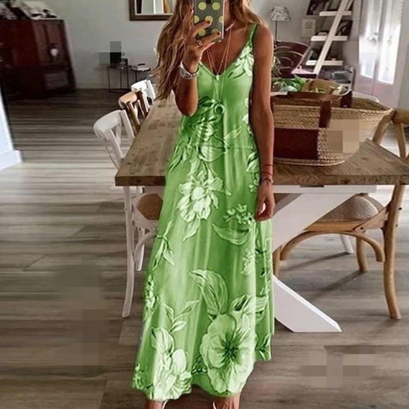 אישה קיץ שמלת 2020 חדש פיצוץ צלחת Slim פרחוני פרחי שמלות לנשים בגדי Vestidos YRW6820