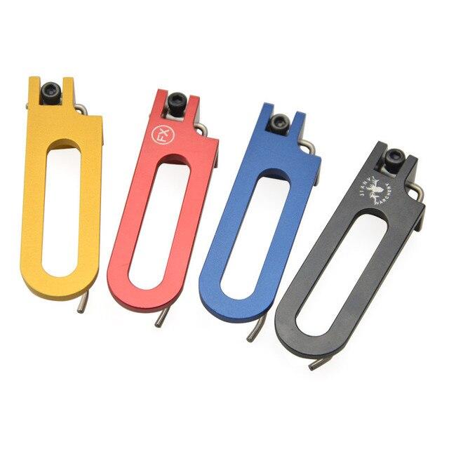 1 ensemble en aluminium coussin plongeur vis sur flèche magnétique côté repos pour arc composé arc extérieur outils de tir accessoires