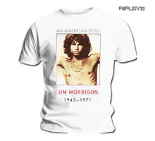 Official T Shirt THE DOORS Jim Morrison American Poet Vintage All Sizes(China)