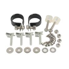 Motorcycle Lower Vented Fairing Mounting Kit Bolts Set For Harley Touring Road King Street Glide Electra Glide 1983-2013