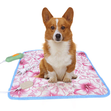 Pet Heating Pad  for Dog Cat Bed Body Winter Warmer Carpet Pet Electric Heating Mat Heated Blanket Electric Heater square multifunctional plush heated electric blanket pet heating pad safety thermostat warm carpet heating office chair cushion
