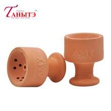 De lujo de la creatividad de arcilla 100% de cerámica para Hookah cabeza de Shisha cuenco de Shisha narguile recipiente de carbón Chicha sisha Accesorios