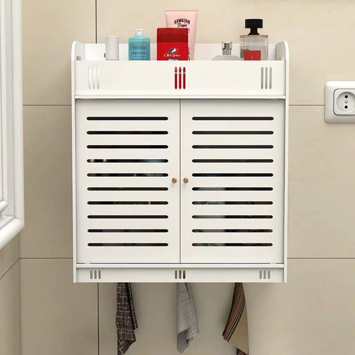 Шкаф для ванной 38x18x43 см, настенный шкаф для ванной и туалета, деревянный пластиковый шкаф, полка