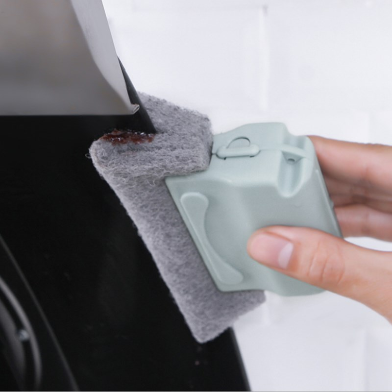 Window Groove Cleaning Cloth Window Cleaning Brush Scouring Cloth Windows Slot Cleaner Brush Clean Window Slot Cleaner
