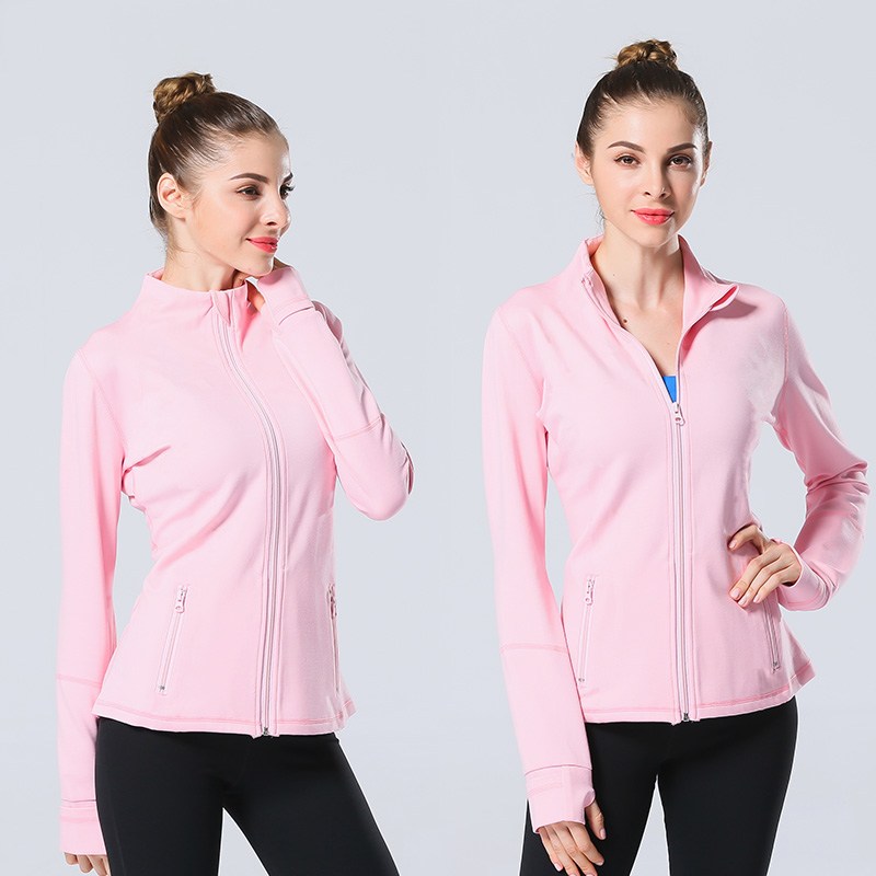 Long Sleeve Running Jacket for Women Womens Clothing Jackets & Hoodies