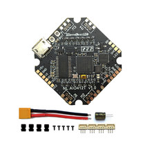 NameLessRC AIO412T F4 AIO F411Flight تحكم + 12A ESC 2-4S HV DShot600 ل BETAFPV ل Diatone 65-100 مللي متر مسواك Drone الطائرة بدون طيار(China)