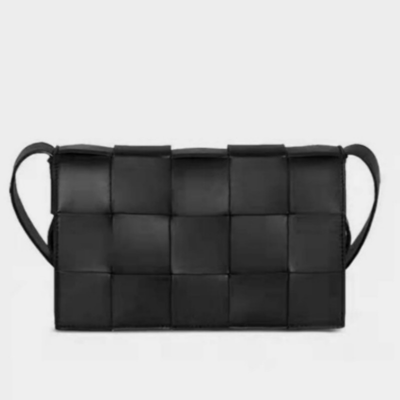 Luxury Handbags Women Bags Designer Knit Real Genuine Leather Shoulder Bag Women Messenger Bag