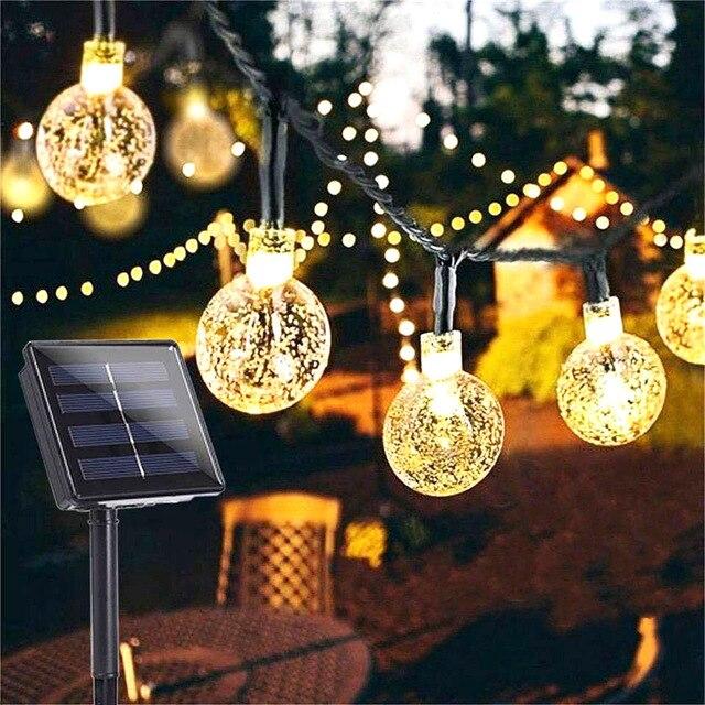 Solar Powered LED Outdoor String Lights - 10/20/50 LEDS (5M/10M Solar Lamp) 1