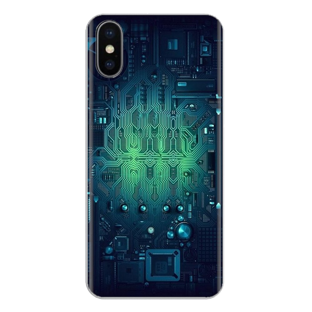 Soft Cases Covers For <font><b>Samsung</b></font> <font><b>Galaxy</b></font> J1 J2 J3 J4 J5 J6 J7 J8 Plus 2018 Prime 2015 2016 2017 Technology Circuit board <font><b>Motherboard</b></font> image