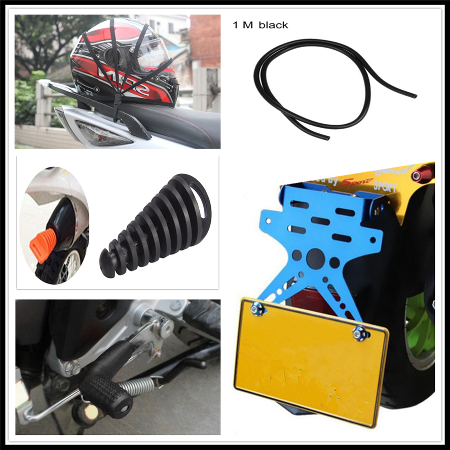 Motorcycle License Holder Shifter CASES Oil Hose Helmet Net Plug for KTM <font><b>Bajaj</b></font> <font><b>PulsaR</b></font> <font><b>200</b></font> <font><b>NS</b></font> 1190 AdventuRe R 1050 RC8 Duke image