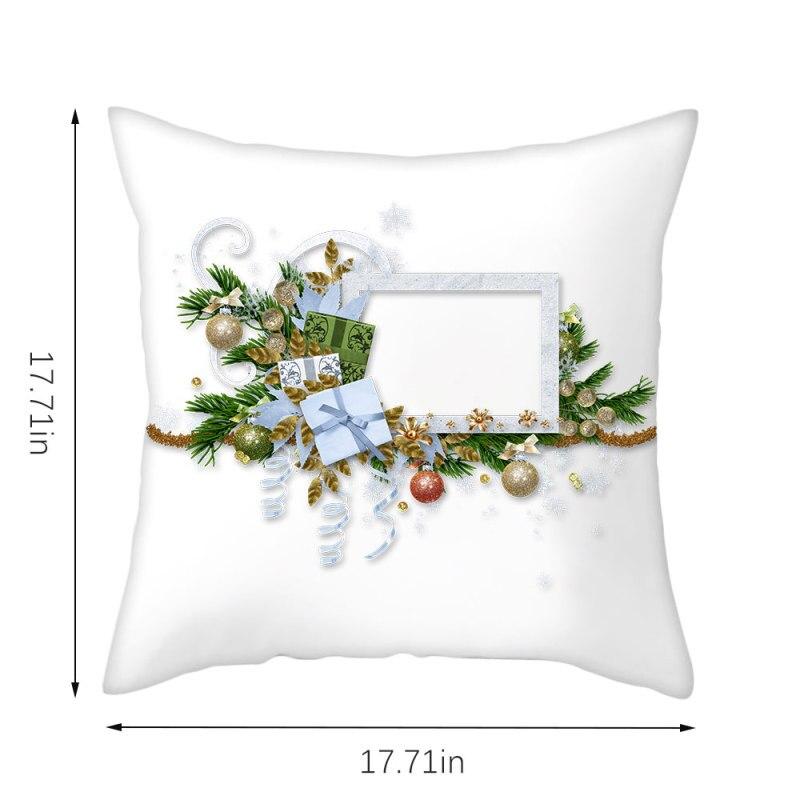Купить nanacoba рождественский подарок чехол для подушки мультфильм