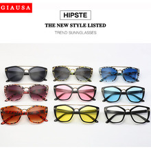 Metal Round Mirror Designer Sunglasses Mens Women Small Frame 90s Black Vintgae