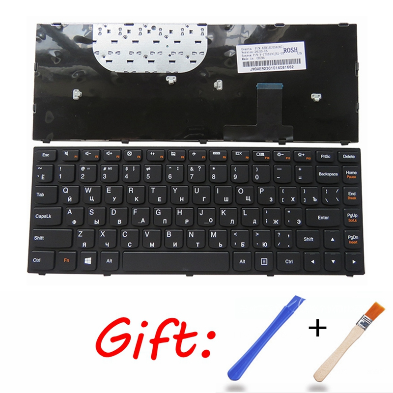 Ru Laptop Keyboard For Lenovo YOGA 13 Black New Russian