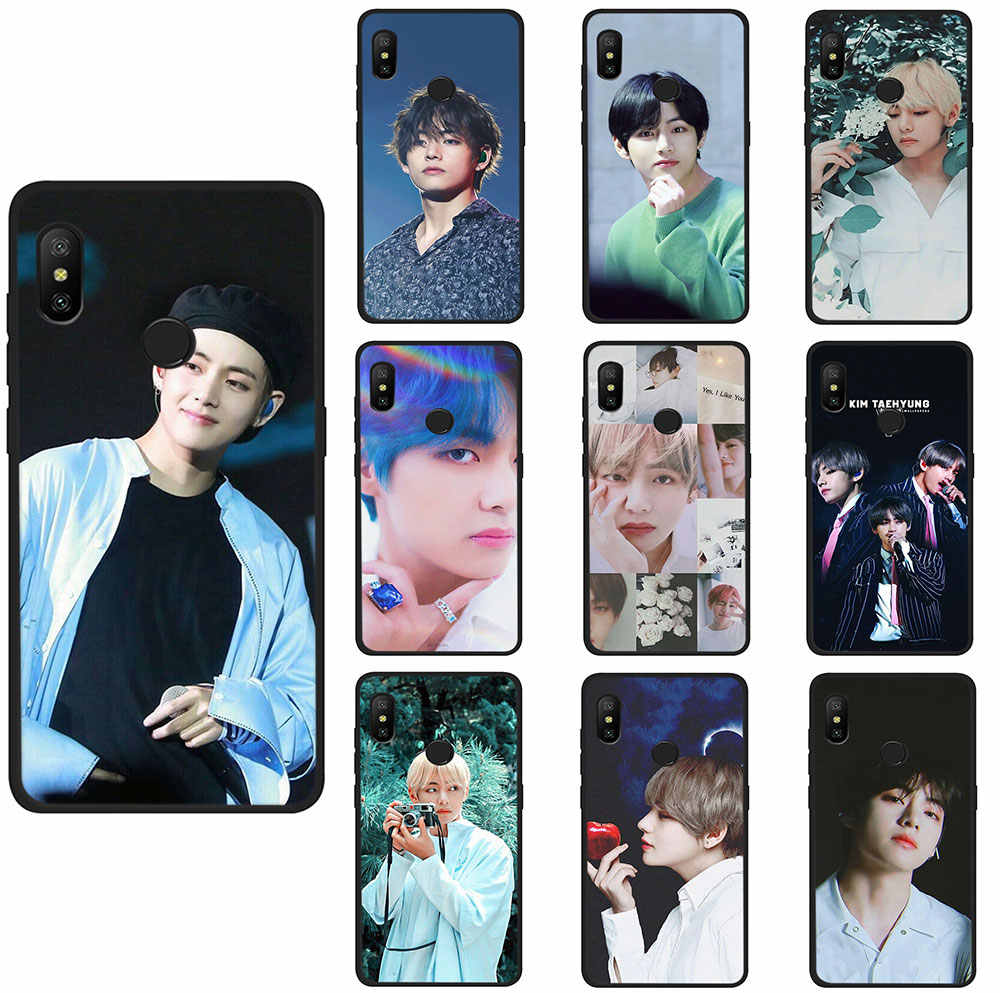 Kim V Taehyung Soft Tpu Phone Cover Voor Xiaomi Mi 8 9 10 Se A2 A3 Lite 6 A1 2 S Max 3 F1 9T CC9e A3 Pro
