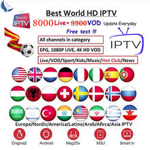 Iptv M3U Abonnement G1 G3 Andorid Tv Box Portugal Arabisch Spanje 1080P Premium Voor Android Box Enigma2 Smart Tv hd 4K Doos(China)