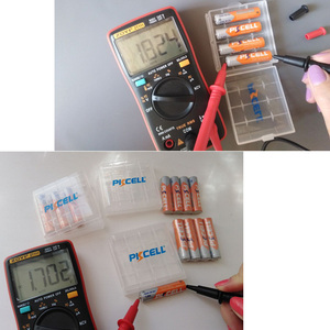 Image 2 - 10 pièces PKCELL 1.6V 900mWh Nickel Zinc ni zn AAA batterie Rechargeable NIZN batterie Rechargeable pour appareil photo numérique, lampe de poche, jouet