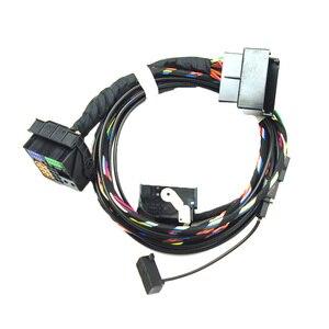 Image 5 - Für Volkswagen RNS510 9W2 9W7 9ZZ Auto Radio Bluetooth Modul Direkte Plug Drahtlose Microphne Harness Kabel 1K8035730D