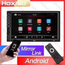 2din Car Radio MP5 Stereo Receiver 2 Din Auto radio Car Stereo Audio Radio Mirror Link Support Rear Camera