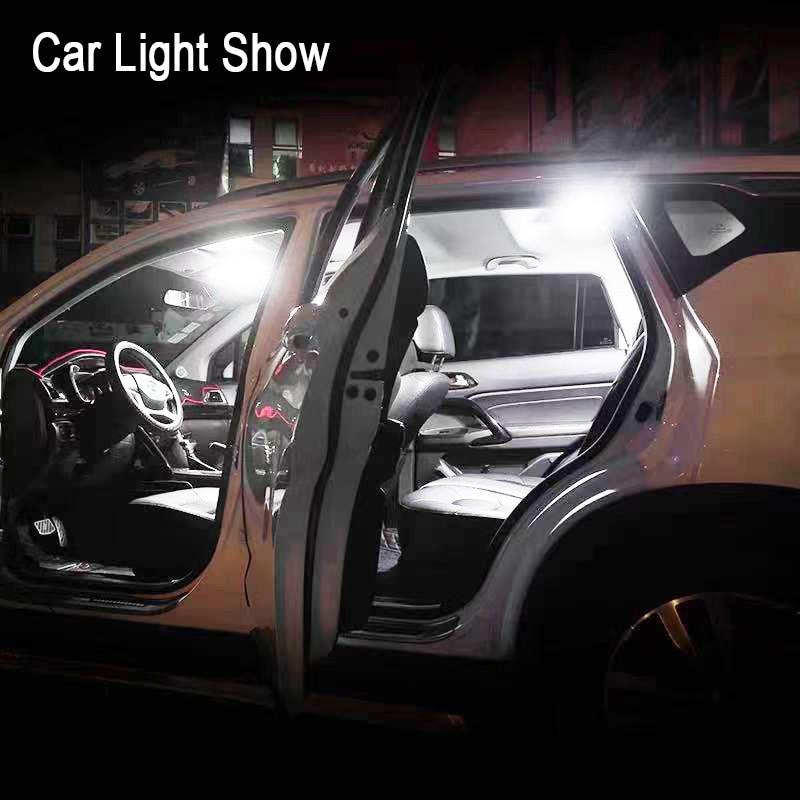promotion White T10 W5w Cob 24SMD 36SMD 48SMD Car Led Auto Interior Reading Lamp Bulb Light Dome Festoon Vehicle Panel Lamp 1pcs 6