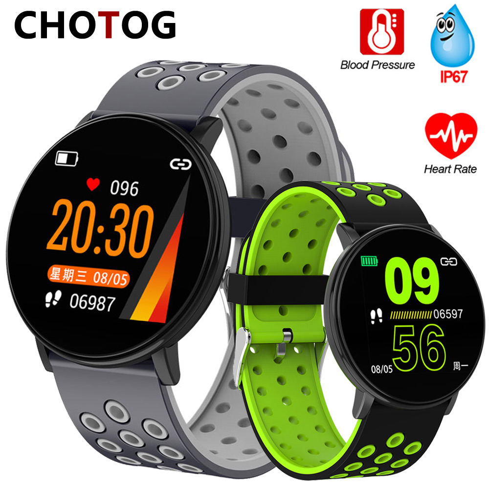 Fitness Bracelet 1.3'' Screen Smart Bracelet Blood Pressure Heart Rate Monitor Fitness Tracker Waterproof Ip67 Smart Band Watch