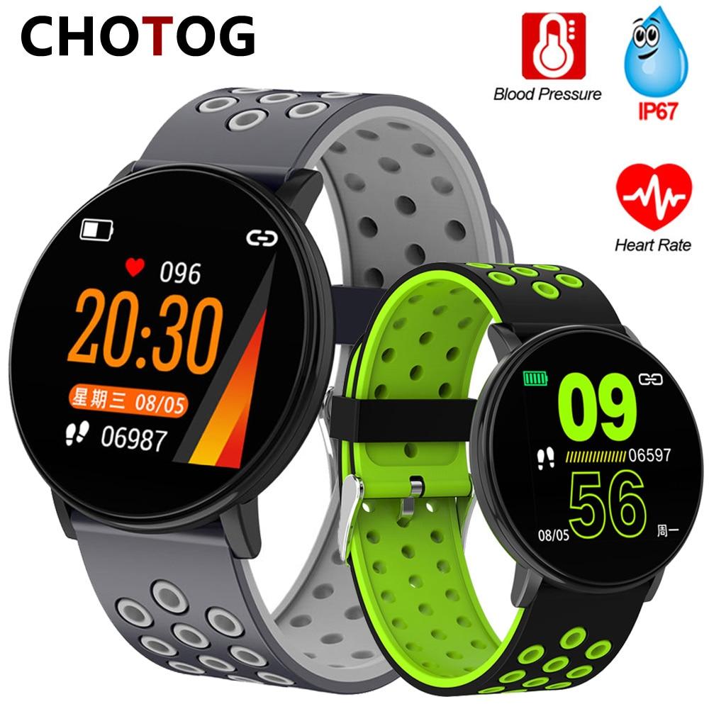 Fitness Bracelet 1.3'' Screen Smart Bracelet Blood Pressure Heart Rate Monitor Fitness Tracker Waterproof Ip67 Smart Band Watch