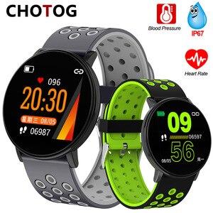 Image 1 - Fitness Bracelet 1.3 Screen Smart Bracelet Blood Pressure Heart Rate Monitor Fitness Tracker Waterproof Ip67 Smart Band Watch