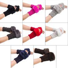Осень зима женские теплые вязаные длинные перчатки эластичные дикие женские руки теплые