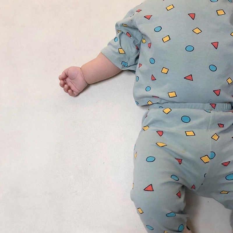 Семейный комплект пижам, милая хлопковая семейная одежда для сна с мультяшным принтом, одежда для папы, мама и я, домашняя одежда для семьи