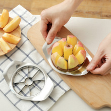 1pcs Apple Cutter Stainless Steel Fruit Slicer Corer Pear Cutters Knife Peeler Cut Tool Vegetable Kitchen Tools