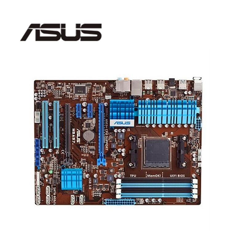 Original Motherboard For ASUS M5A97 Socket AM3+ DDR3 32GB USB2.0 USB3.0 SATA3 970 Desktop Motherboard Free Shipping