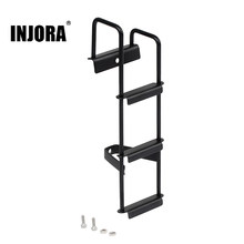 INJORA 1 шт. 125*36 мм Металлическая черная лестница для 1/14 Тамия трактор грузовик RC автозапчасти