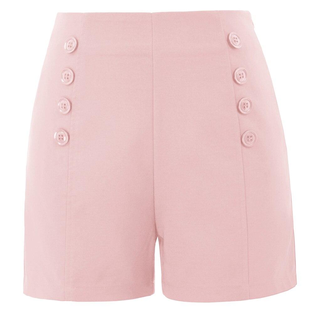 Vintage Striped Blue  White Shorts Womens Shorts Nautical Cotton Shorts Hight Waist Fashion 80/'s 90/'s Funny Comfortable Shorts Size 42 44