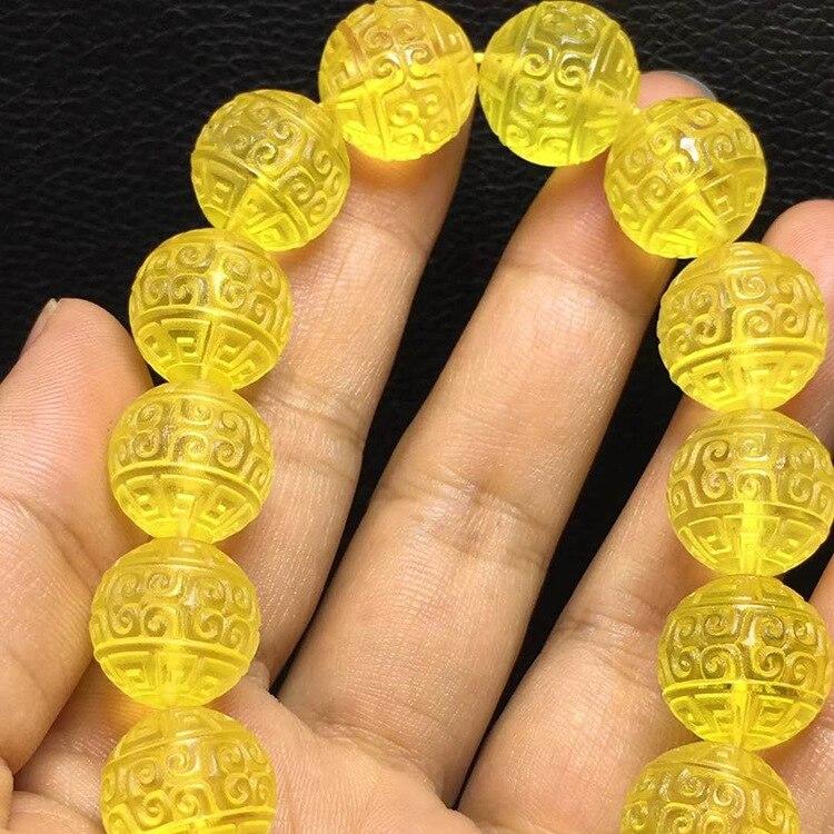 Amber 33 Beads With 2 Dividers Rosary For Women Men Amber Bracelet Bractlets Men Women Bracelet 12mm