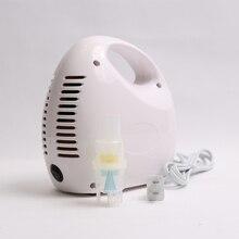 Nebulizador compressor ajustável, máquina inaladora para alívio de alergias, crianças e adultos, terapia respiratória médica