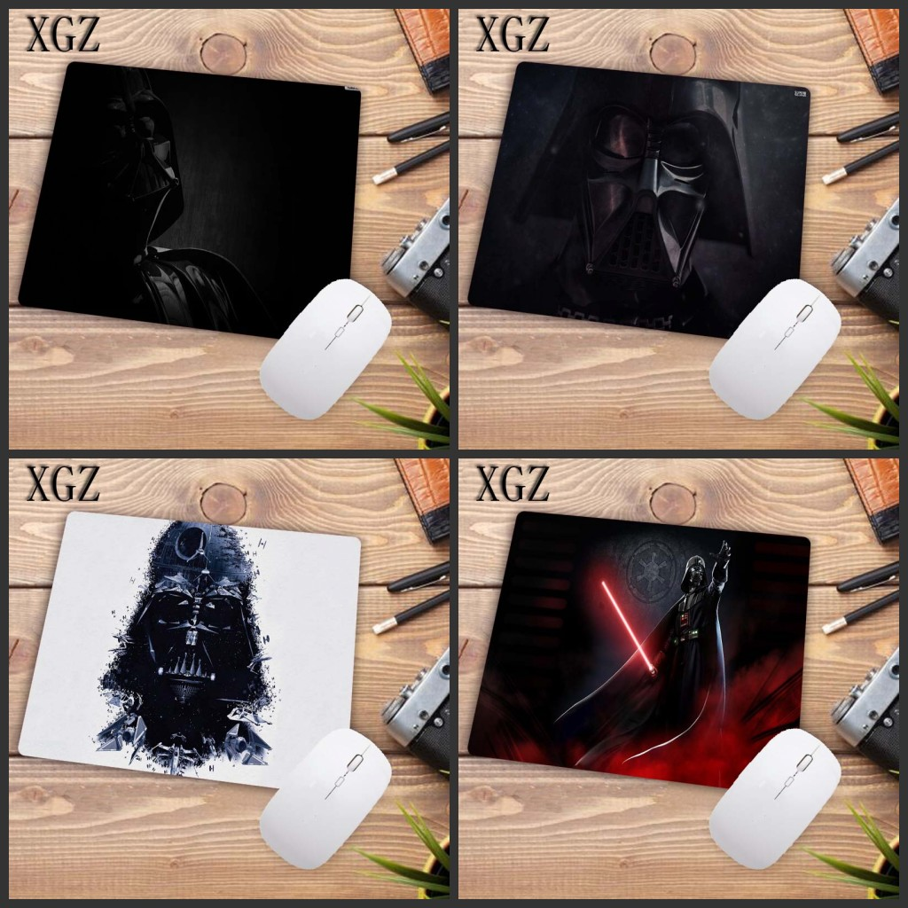 XGZ Personaggi Cool Star Wars Vader Black High Quality  Speed New Gaming Mousepad Small Size Computer Desktop Game Mouse Pad