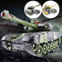 33/44 см RC батальон Танк зарядное устройство битвы Запуск по пересеченной местности гусеничный пульт дистанционного управления RC военные бак...