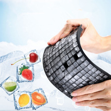 Mold Kitchen-Accessories Ice-Cube-Maker Silicone Tray Square-Shape Creative DIY Fruit